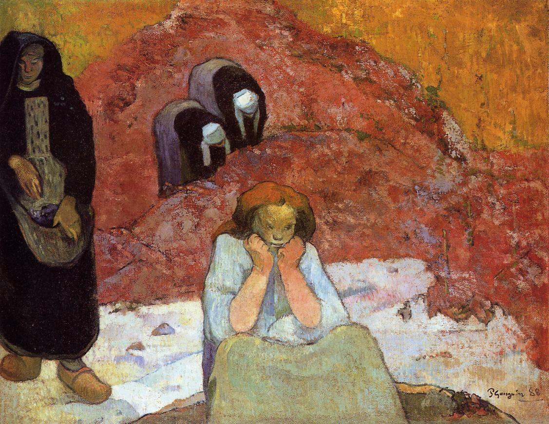 Harvesting of grapes at arles 1888 art museum ordrupgard